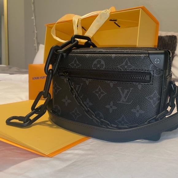 Louis Vuitton Black Monogram Eclipse Soft Trunk